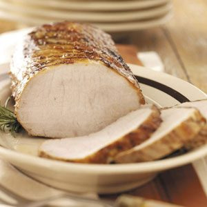 Grilled Pork Roast