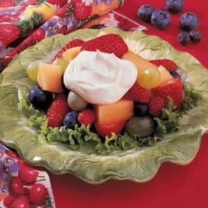 Buttermilk Fruit Topping