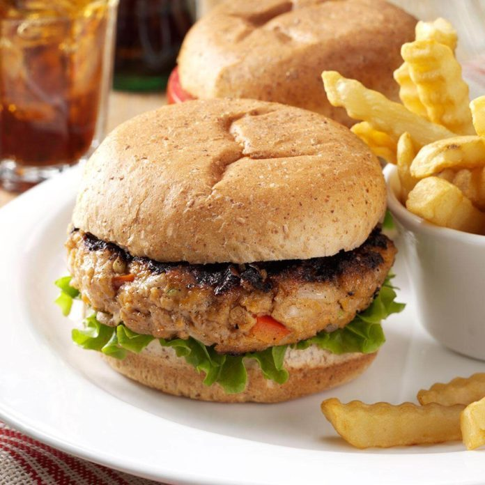 Inspired by: Grilled Turkey Burger