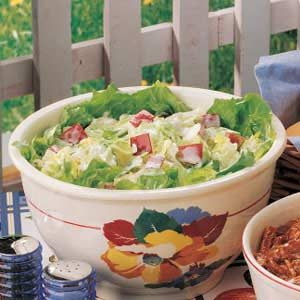 Apple Iceberg Salad
