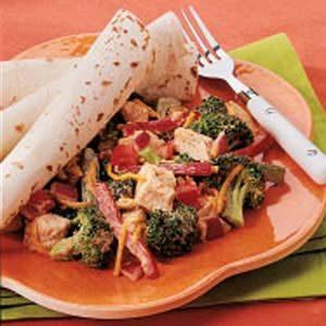 Picante Broccoli Chicken Salad