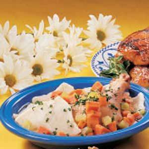 Chicken with Slippery Dumplings