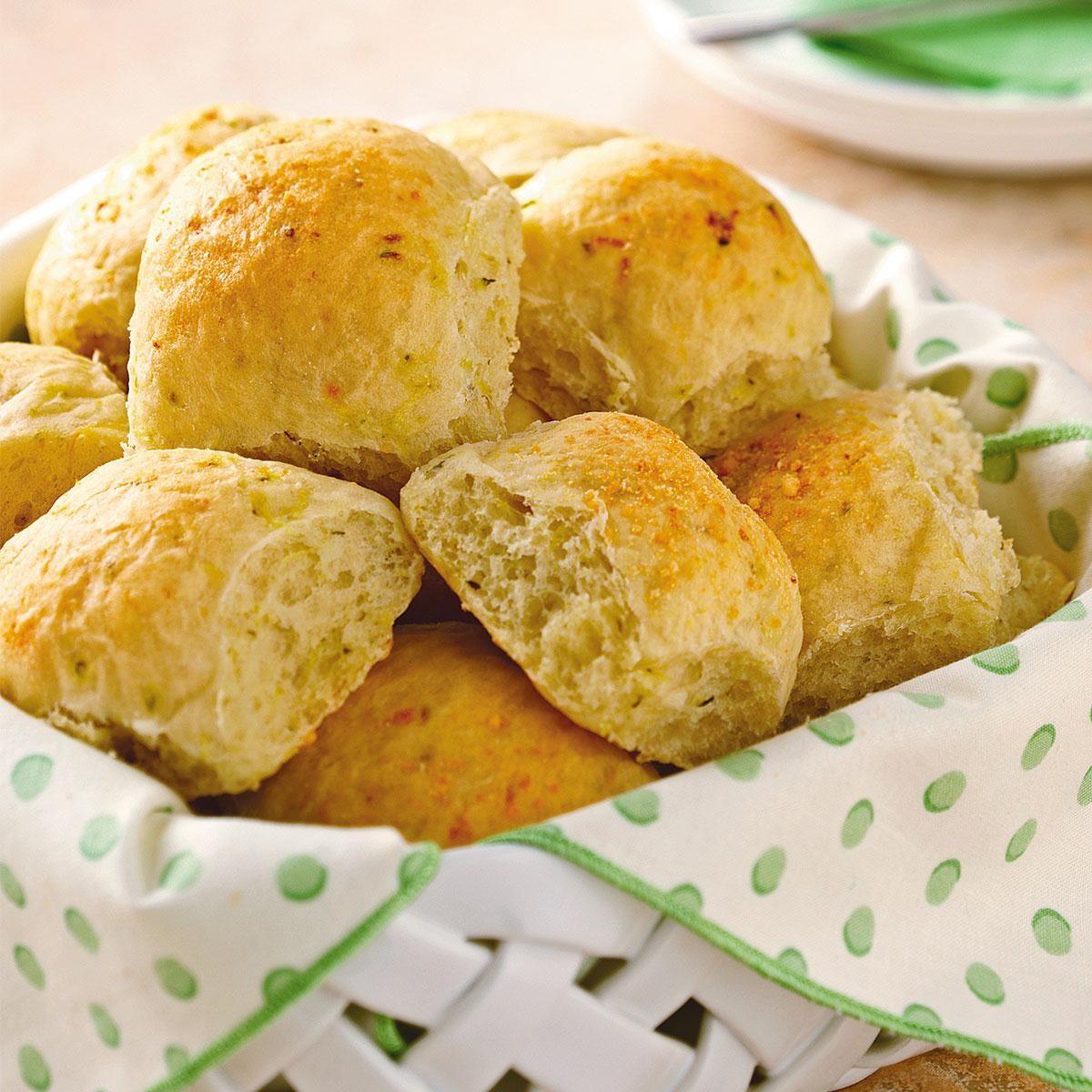 Zucchini dinner rolls taste of home forumfinder Choice Image