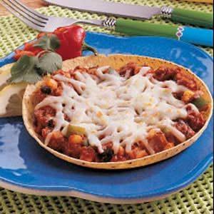 Corn Tortilla Pizzas