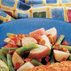 Potato Green Bean Medley