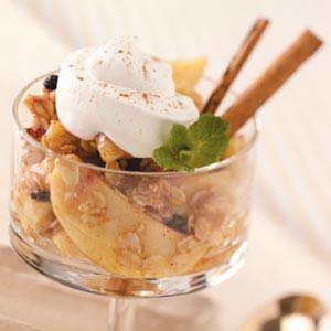Apple Granola Dessert