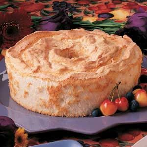 Delightful Angel Food Cake