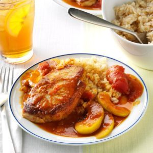Pork Chops with Tomato Curry