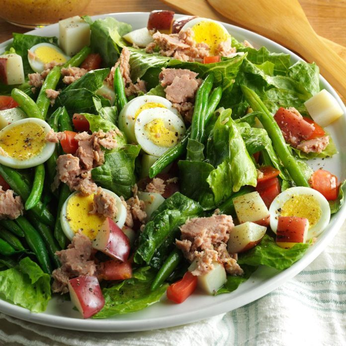 Day 3: Quick Nicoise Salad