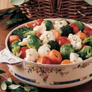 Lemony Marinated Vegetables