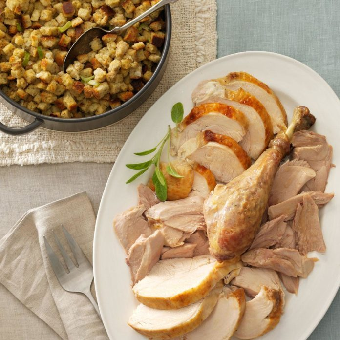 Inspired by: Bob Evans' Slow Roasted Turkey & Dressing