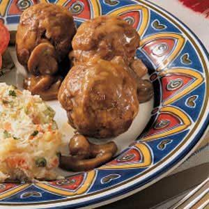 Bavarian Meatballs