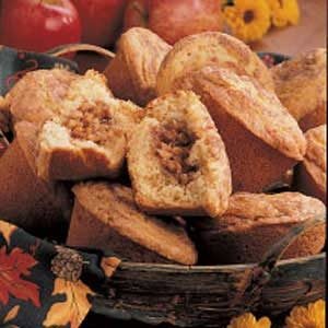 Nutty Apple-Filled Muffins