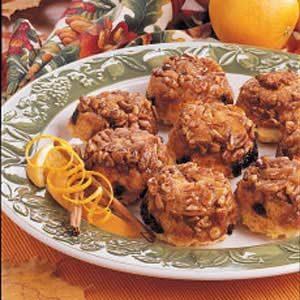 Orange-Raisin Sticky Muffins
