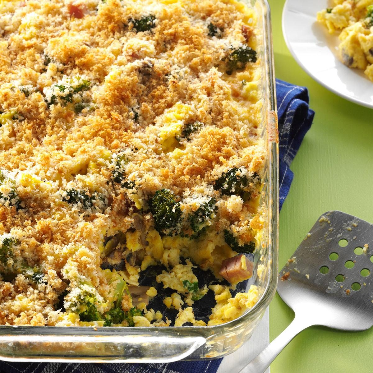Broccoli Breakfast Casserole Recipe