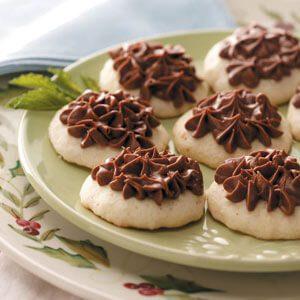 Hint o' Mint Cookies