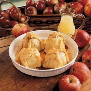 Lemony Apple Dumplings