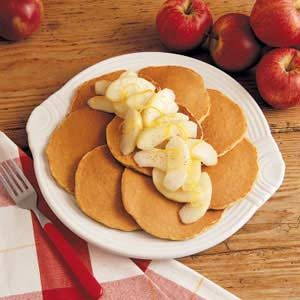 Apple-Topped Oatcakes