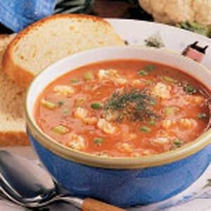 Cauliflower Tomato Soup