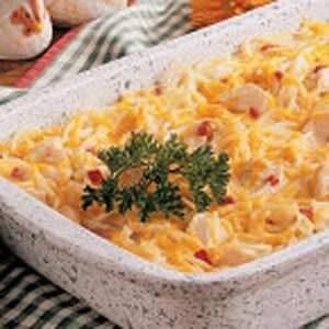 Cheddar Chicken Spaghetti