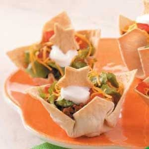 Starry Night Taco Cups