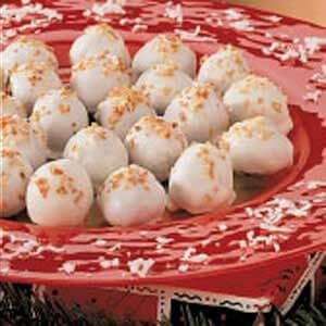Toasted Coconut Truffles
