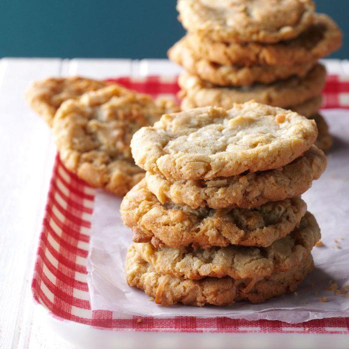 Grandma Krauses' Coconut Cookies