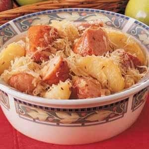 Polish Kraut and Apples