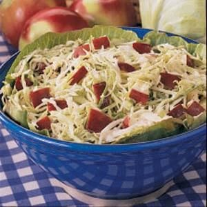 Apple Cabbage Slaw