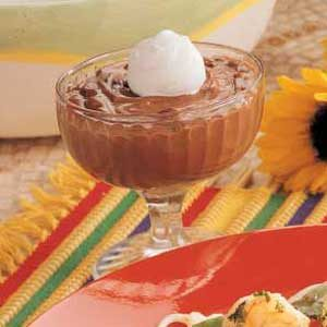 Peanutty Chocolate Pudding