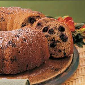 Blueberry Oat Cake