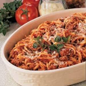 Skillet Spaghetti