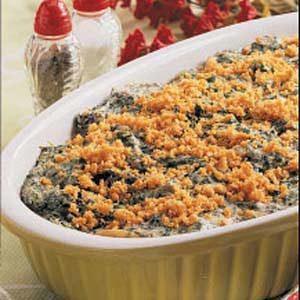 Creamy Spinach Bake