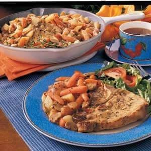 Country Pork Chop Dinner