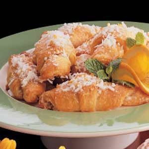 Orange Coconut Crescents