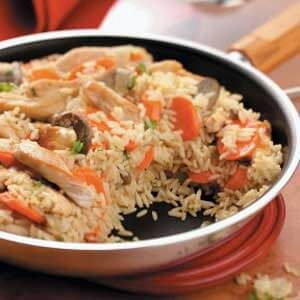 Chicken Carrot Pilaf