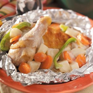 Campfire Chicken Stew | Campfire Recipes For Your Next Camping Trip | Homesteading