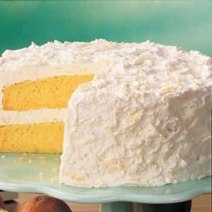 Pineapple Cake Taste of Home