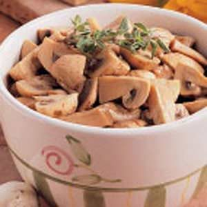 Tangy Marinated Mushrooms