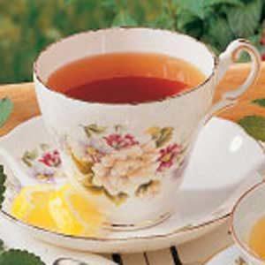Black Tea with Lemon Balm