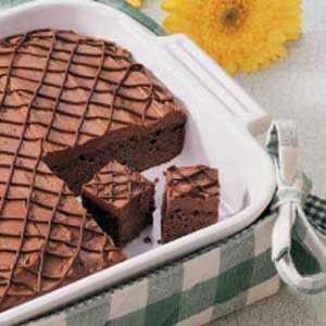 Mocha Truffle Brownies