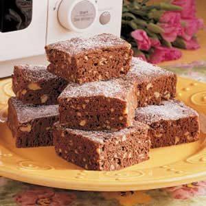 Microwave Brownies