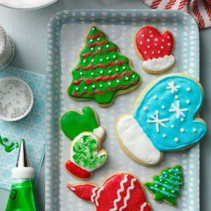 Holiday Cutout Cookies