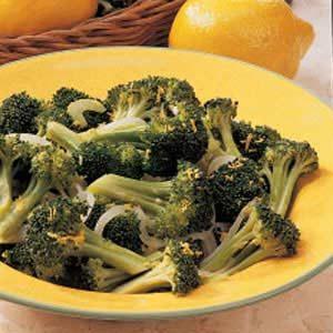 Steamed Lemon Broccoli
