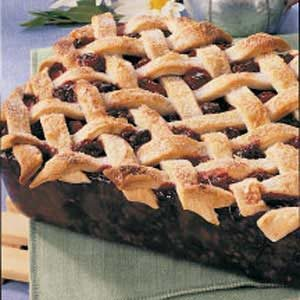 Deep-Dish Blackberry Pie