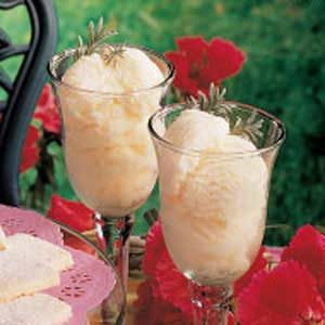 Homemade Lavender Ice Cream