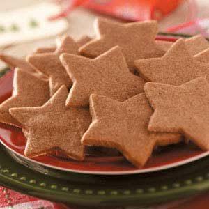 Cinnamon Star Cutouts