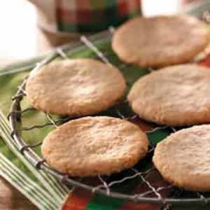 Almond Oatmeal Cutouts