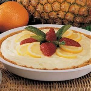 Lemon Pineapple Pie