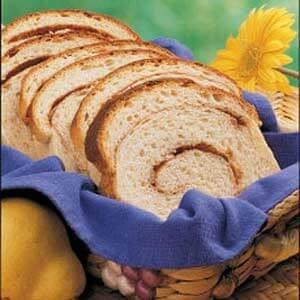 Cinnamon-Swirl Pear Bread